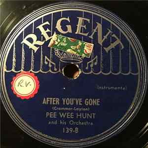 Pee Wee Hunt And His Orchestra - Sunny Side Of The Street Album