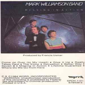 Mark Williamson Band - Missing In Action Album